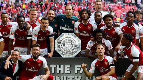 Vua vo dich Sieu cup Anh 2017 nhung CLB Arsenal van khong duoc danh gia cao.