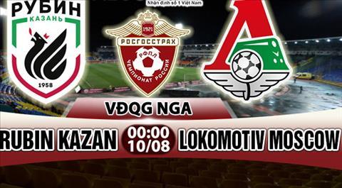 Nhan dinh Rubin Kazan vs Lokomotiv Moscow 00h00 ngay 108 (VDQG Nga) hinh anh