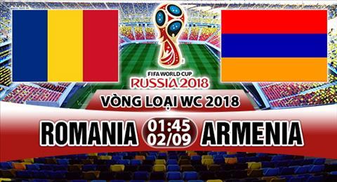 Nhan dinh Romania vs Armenia 01h45 ngày 29 (VL World Cup 2018) hinh anh