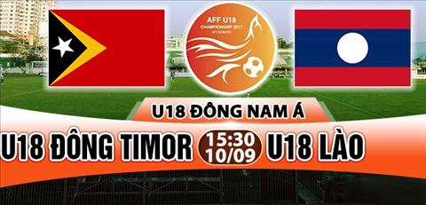 Nhan dinh U18 Dong Timor vs U18 Lao 15h30 ngay 109 (U18 Dong Nam A 2017) hinh anh