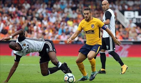 Valencia 0-0 Atletico Madrid Tran hoa nhat hinh anh