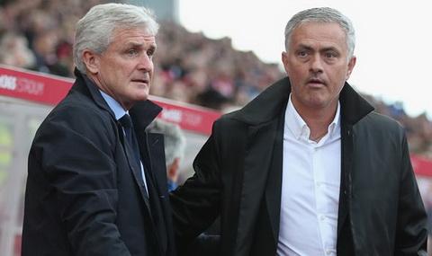 Jose Mourinho tu choi bat tay Mark Hughes.