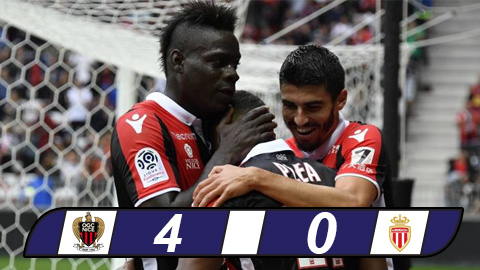 Nice 4-0 Monaco Nha DKVD tham bai duoi tay badboy hinh anh