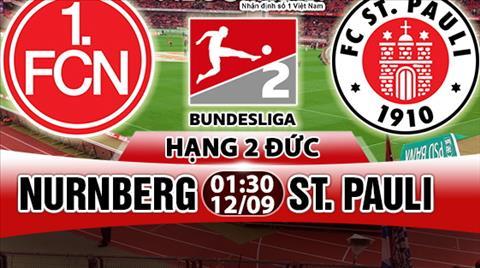 Nhan dinh Nurnberg vs StPauli 01h30 ngay 129 (Hang 2 Duc 201718) hinh anh
