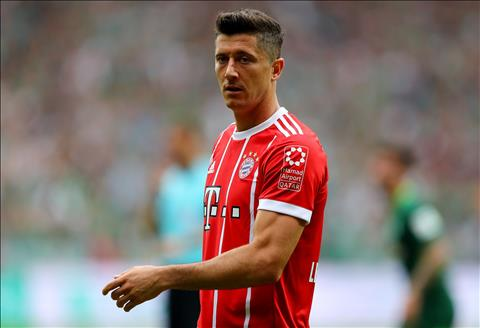 Man Utd chu y Nguoi Bayern dang doi ban Lewandowski hinh anh