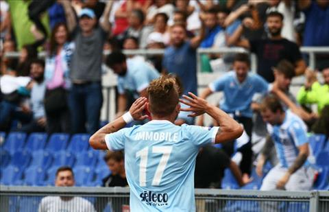 Lazio 4-1 AC Milan Hattrick cua cuu Vua pha luoi Serie A hinh anh
