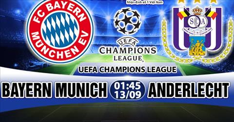 Nhan dinh Bayern Munich vs Anderlecht 01h45 ngay 139 (UEFA Champions League 201718) hinh anh
