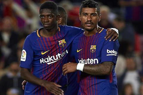 HLV Barca khong chac Dembele se ra san truoc Juventus hinh anh