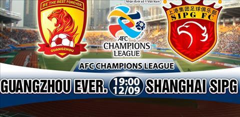 Nhan dinh Guangzhou Evergrande vs Shanghai SIPG 19h00 ngay 129 (AFC Champions League 2017) hinh anh