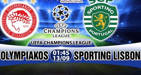 Nhan dinh Olympiakos vs Sporting Lisbon 01h45 ngay 139 (Champions League 201718) hinh anh