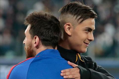 Dybala tha thinh Barca truoc khi doi dau hinh anh