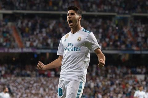 Hoc theo Morata, tien ve Marco Asensio sap roi Real hinh anh