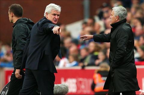 Mourinho hanh xu nhu thang tre trau xau tinh hinh anh