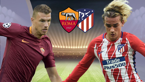 Nhan dinh AS Roma vs Atletico Madrid 01h45 ngay 139 (UEFA Champions League 201718) hinh anh
