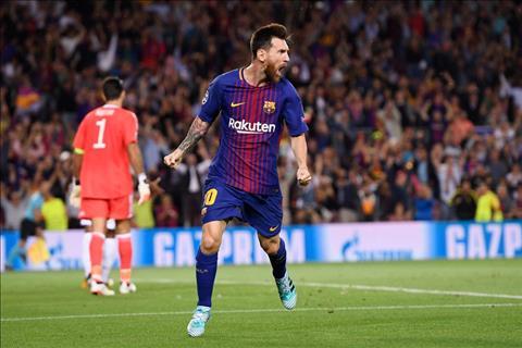 Messi van la so 1 cua Barca truoc Juve