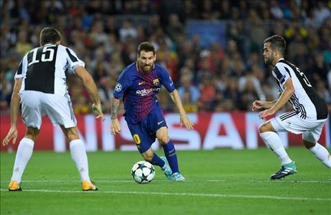 Messi di bong truoc hang thu Juventus