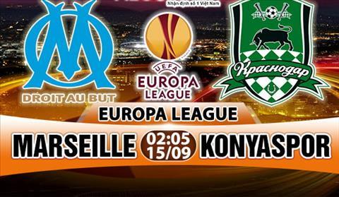 Nhạn dịnh Marseille vs Konyaspor 02h05 ngày 159 (Europa League 201718) hinh anh
