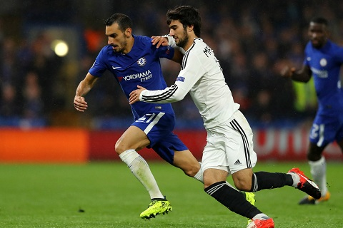 Pedro chon hau ve Davide Zappacosta nhanh nhat Chelsea hinh anh