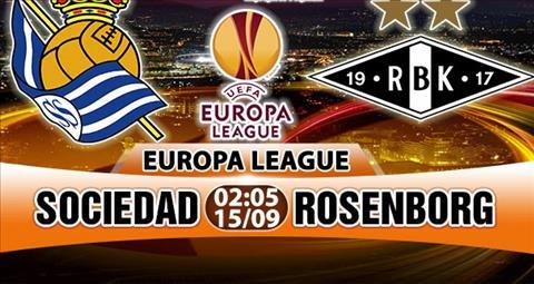 Nhan dinh Sociedad vs Rosenborg 02h05 ngay 159 (Europa League 201718) hinh anh