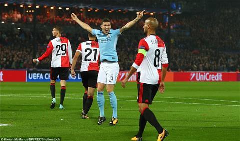 Thong ke khong the bo qua tran Feyenoord 0-4 Man City hinh anh 3