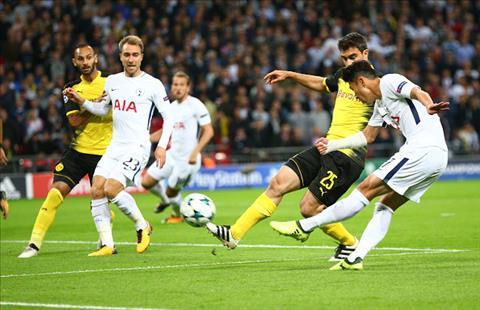 Tottenham 3-1 Dortmund Su that ve loi nguyen Wembley hinh anh