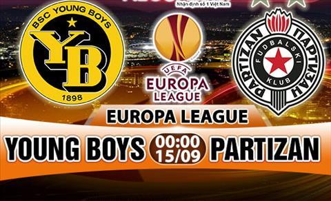 Nhan dinh Young Boys vs Partizan 00h00 ngay 159 (Europa League 201718) hinh anh