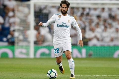 CHINH THUC Gia han hop dong voi Real Madrid, Isco dat gap doi Messi hinh anh