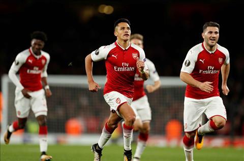 Arsenal 3-1 Cologne Tien dao Alexis Sanchez tro lai hinh anh 2