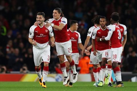 Arsenal 3-1 Cologne Tien dao Alexis Sanchez tro lai hinh anh