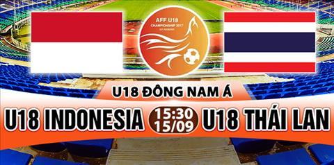 Nhan dinh U18 Indonesia vs U18 Thai Lan 15h30 ngay 159 (U18 Dong Nam A 2017) hinh anh