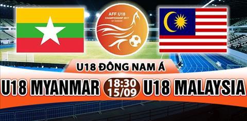 Nhan dinh U18 Myanmar vs U18 Malaysia 18h30 ngay 159 (U18 Dong Nam A 2017) hinh anh