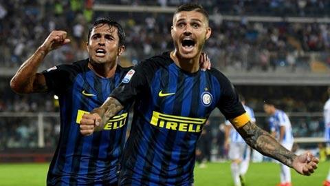 Tien dao Icardi duoc danh rieng cho lich su Inter Milan hinh anh