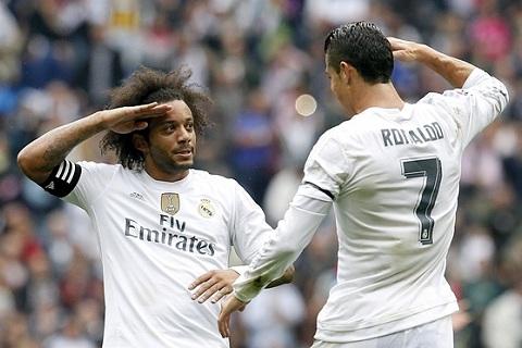Marcelo va Ronaldo