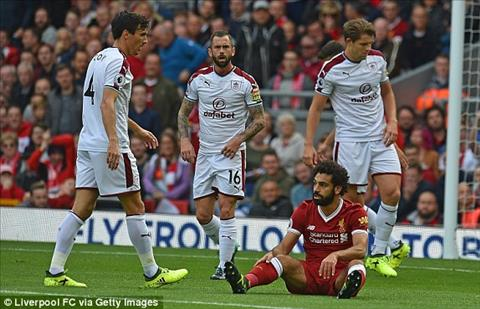 Du am Liverpool 1-1 Burnley Klopp va noi nho Mane hinh anh