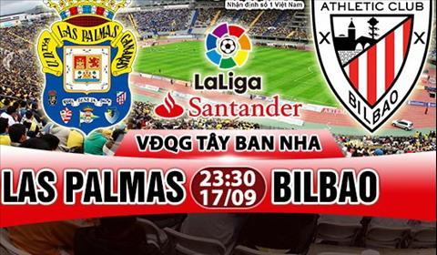 Nhan dinh Las Palmas vs Bilbao 23h30 ngay 179 (La Liga 201718) hinh anh