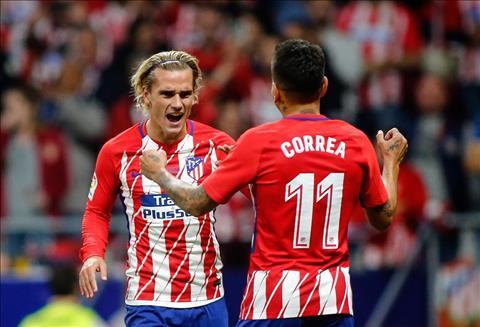 Atletico Madrid 1-0 Malaga Griezmann tro lai, Atletico chao san moi thanh cong hinh anh