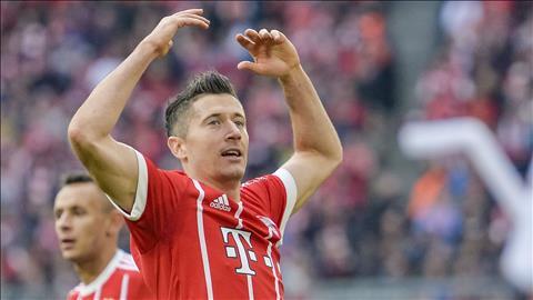 Lewandowski thiet lap ky luc ghi ban o Bundesliga hinh anh
