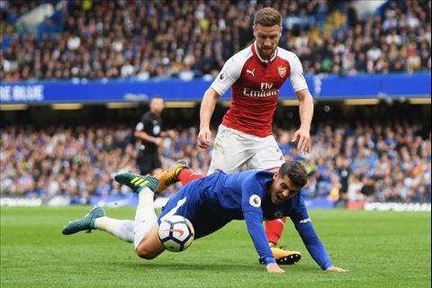 Chelsea bat luc truoc Arsenal Vi Alvaro Morata khong phai Diego Costa hinh anh