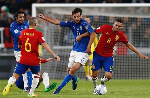 Tay Ban Nha vs Italia (1h45 ngay 39) Khi mau thien thanh phai nhat hinh anh