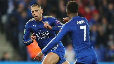 Tong hop Leicester 2-0 Liverpool (Vong 3 cup Lien doan Anh 201718) hinh anh