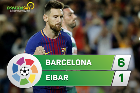 Tong hop Barca 6-1 Eibar (Vong 5 La Liga 201718) hinh anh