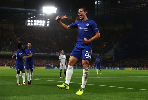 Cesar Azpilicueta 7 trieu bang thong minh nhat cua Chelsea hinh anh