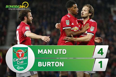 Tong hop MU 4-1 Burton (Vong 3 cup Lien doan Anh 201718) hinh anh