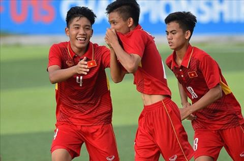 U16 Viet Nam co chien thang man nhan truoc Mong Co