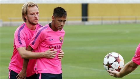 Rakitic van nuoi tiec vi su ra di cua Neymar