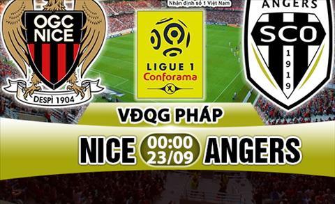 Nhan dinh Nice vs Angers 00h00 ngay 239 (Ligue 1 201718) hinh anh