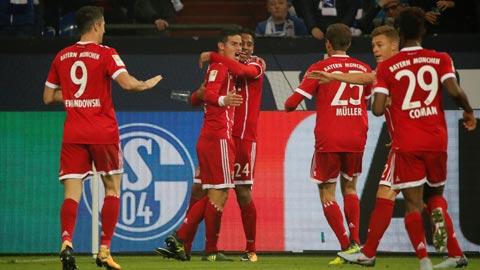 Nhan dinh Bayern Munich vs Wolfsburg 01h30 ngay 23/9 (Bundesliga 2017/18)