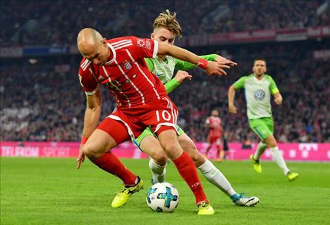 Tong hop Bayern Munich 2-2 Wolfsburg (Vong 6 Bundesliga 201718) hinh anh