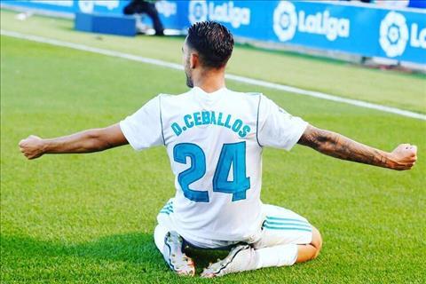 Juventus muon co tien ve Dani Ceballos cua Real Madrid hinh anh 2