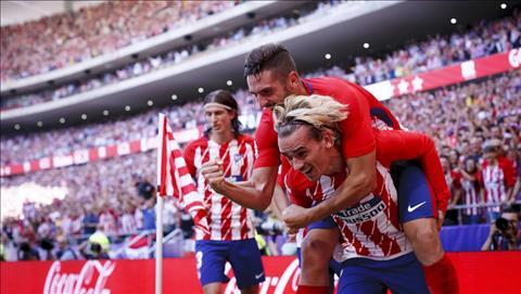 Atletico Madrid 2-0 Sevilla: Leo len ngoi nhi bang